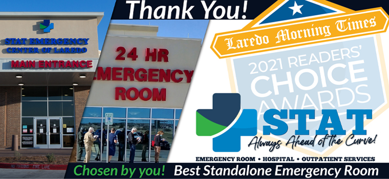 """STAT Awarded Readers' Choice for """"Best Standalone Emergency Room"""